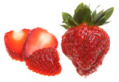 Tasty and Fresh strawberry Stock Photography