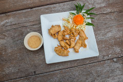 Tasty fried chicken Royalty Free Stock Images