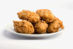 Tasty fried chicken wings Royalty Free Stock Photo