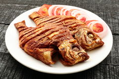 Tasty Fried fish Stock Images