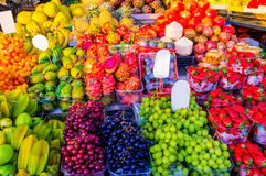 The tasty fruits Stock Photography