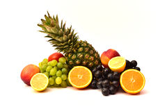 Tasty Fruits. Organic Food. Natural Fruits. Healthy Fruits Stock Photography
