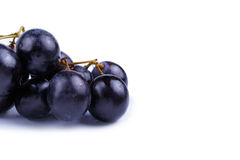 Tasty grapes on a white background. Stock Photo
