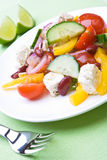 Tasty greek salad Stock Photography