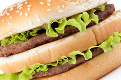 Tasty hamburger Royalty Free Stock Photography