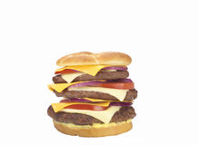TASTY HAMBURGER Royalty Free Stock Image