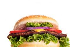 Tasty Hamburger Stock Photography