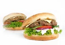 Tasty Hamburgers Stock Photos