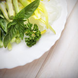 Tasty and healthy salad Stock Photography