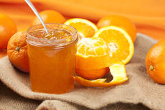Tasty home made marmelade Stock Image