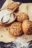 Tasty Homemade buns Royalty Free Stock Photo