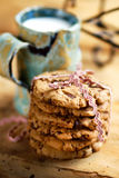 Tasty homemade chocolate biscuits Royalty Free Stock Photography