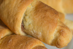 Tasty, homemade croissants Royalty Free Stock Photo