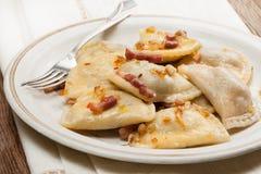 Tasty, homemade dumplings. Royalty Free Stock Images