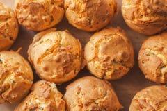 Tasty homemade salty cupcakes Stock Image