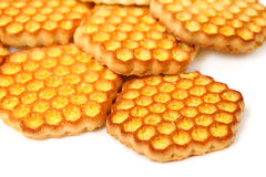 Tasty honeyed  cookies Royalty Free Stock Images