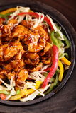 Tasty and hot chinese food Stock Photography