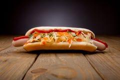 Tasty hot-dog Royalty Free Stock Photos
