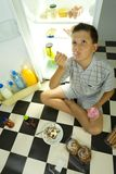 Tasty ice cream Stock Photos