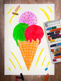 Tasty ice cream Royalty Free Stock Images