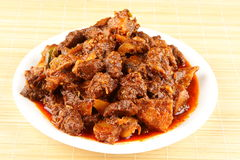 Tasty Indian mutton curry Royalty Free Stock Photography