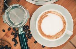 Tasty Italian Cappuccino Stock Image