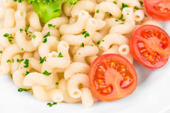 Tasty italian pasta. CLose up. Stock Images