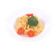 Tasty italian pasta gnocchi. Stock Images