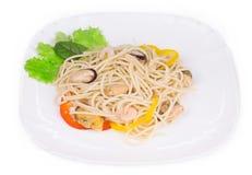 Tasty italian pasta Royalty Free Stock Photos