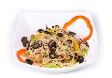Tasty italian pasta Royalty Free Stock Image