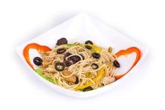 Tasty italian pasta Stock Images
