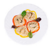 Tasty italian pasta Stock Photography