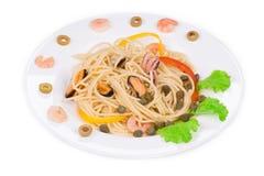 Tasty italian pasta Royalty Free Stock Photo