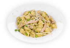 Tasty italian pasta. Stock Images