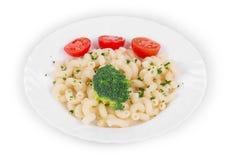 Tasty italian pasta. Stock Photo