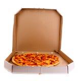 Tasty Italian pizza Stock Images