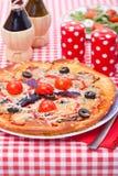 Tasty italian pizza Stock Photo