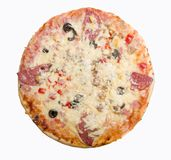 Tasty Italian pizza Stock Images
