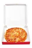 Tasty Italian pizza in the box Stock Image