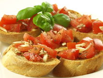 Tasty italian snack Stock Image