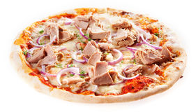 Tasty Italian takeaway pizza Royalty Free Stock Image