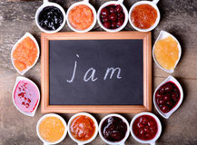 Tasty jam Royalty Free Stock Images