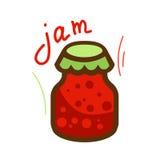 Tasty jam 1 Stock Image