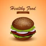 Tasty Juicy Burger, Fastfood Royalty Free Stock Photos