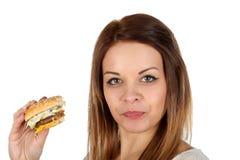 Tasty junk food stock photo