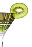 Tasty kiwi drink Stock Photo