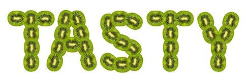 Tasty kiwi fruit Royalty Free Stock Image
