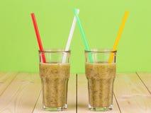 Tasty kiwi smoothie. Stock Images