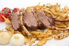 Tasty Lamb Ribs Royalty Free Stock Photos