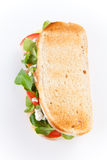 Tasty lamb sandwich Stock Photos